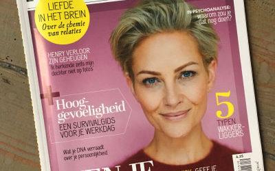 Interview in 'Psychologie Magazine'